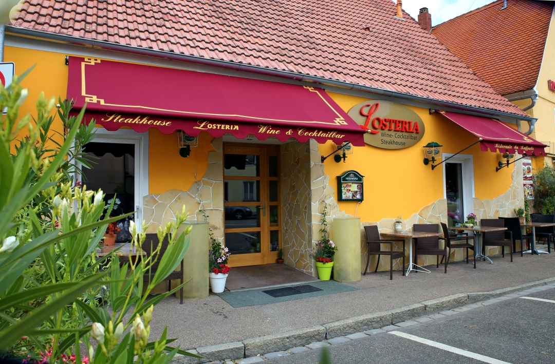 "Das ""Steakhouse Losteria"" in Oettingen."